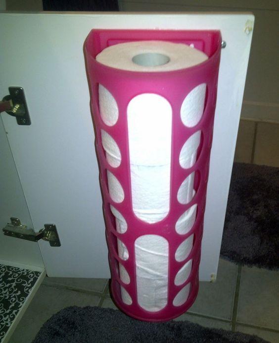RV Tips Bathroom Storage 06