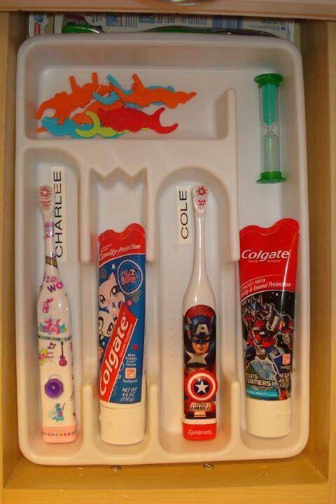 RV Tips Bathroom Storage 12