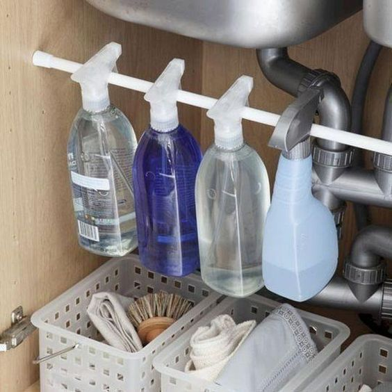 RV Tips Bathroom Storage 20