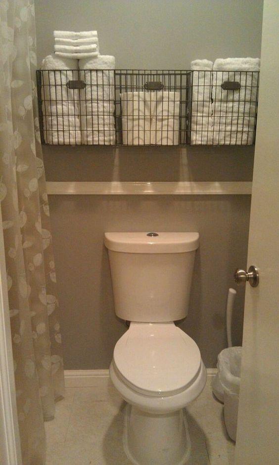 RV Tips Bathroom Storage 21